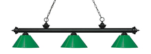 Z-Lite 200-3MB-PGR - 3 Light Billiard Light