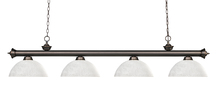 Z-Lite 200-4OB-DWL14 - 4 Light Billiard Light