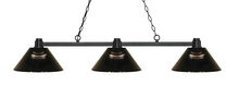 Z-Lite 314BRZ-ARS - 3 Light Island/Billiard Light