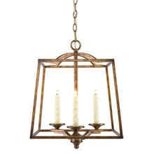 Golden 3071-3P GG - 3 Light Pendant