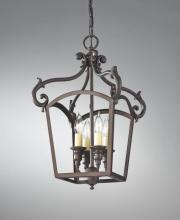 Feiss F2801/4ORB - 4 - Light Hall Chandelier