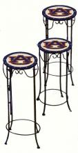 College Lamps and Accessories AUB920 - Auburn University  Nesting Tables