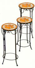 College Lamps and Accessories CLEM920 - Clemson University  Nesting Tables