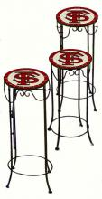 College Lamps and Accessories FSU920 - Florida State University Nesting Tables