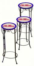 College Lamps and Accessories MISS920 - University of Mississippi Nesting Tables
