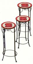 College Lamps and Accessories NCSU920 - North Carolina State University Nesting Tables