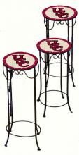 College Lamps and Accessories SC920 - University of South Carolina Nesting Tables