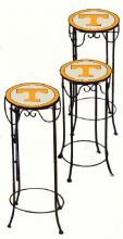 College Lamps and Accessories TENN920 - University of Tennessee Nesting Tables