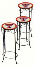 College Lamps and Accessories TTECH920 - Texas Tech University Nesting Tables