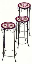 College Lamps and Accessories TXAM920 - Texas A&M University Nesting Tables